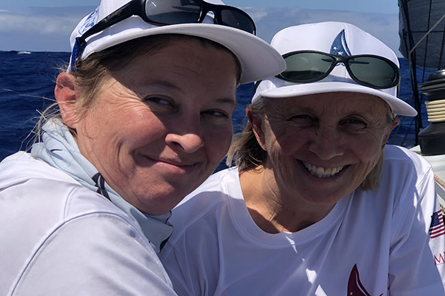 Merlin girls Transpac 2019