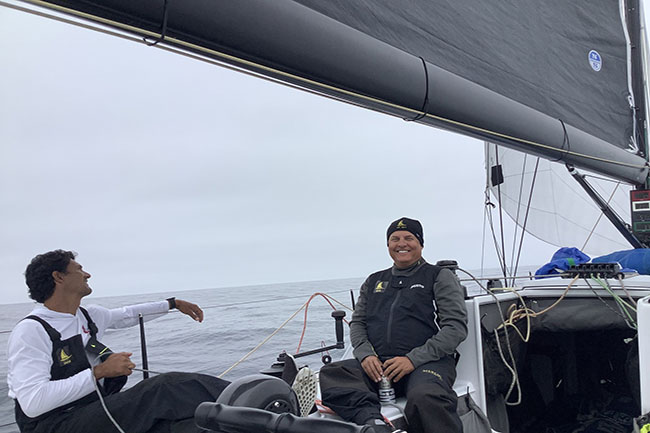 Transpac 19 Merlin TP Day 2 No wind